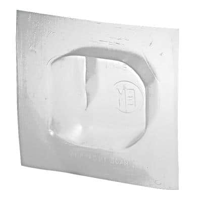 2-Gang 4-11/16 in. New Work Airtight Vapor Barrier Electrical Box for WOCT (Case of 100)