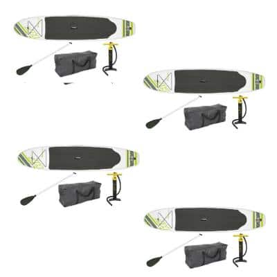 122 in. x 27 in. Inflatable Hydro Force Wave Edge Standup Paddle Board (4-Pack)