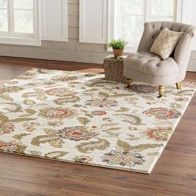 Lucy Cream 8 ft. x 10 ft. Area Rug