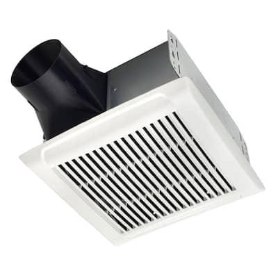 Roomside Series 80 CFM Ceiling Roomside Installation Bathroom Exhaust Fan
