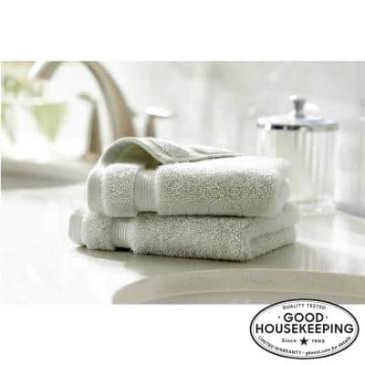 Egyptian Cotton Wash Cloth in Sage (Set of 2)