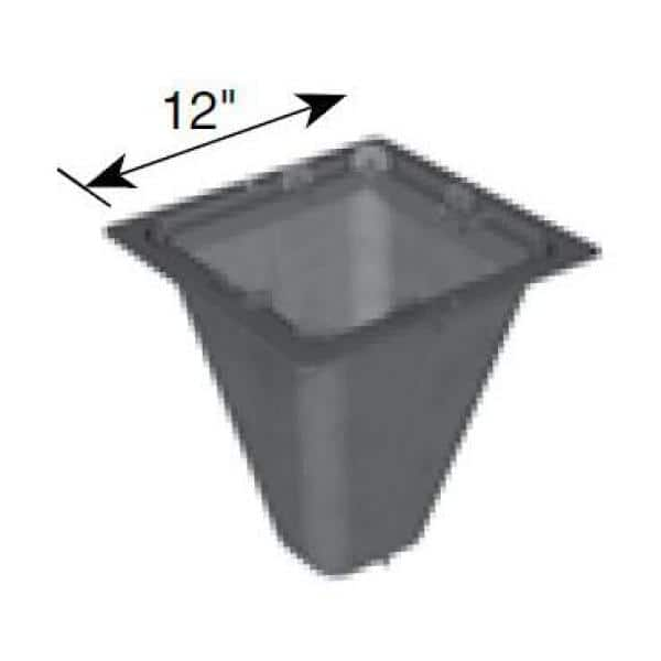 "12/"" x 12/"" NDS 1200FF Catch Basin Filter"