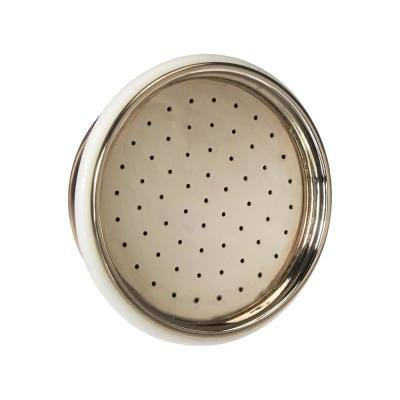 1/2 in. Shower Rose Showerhead Replacement for All Handsprays Satin Nickel