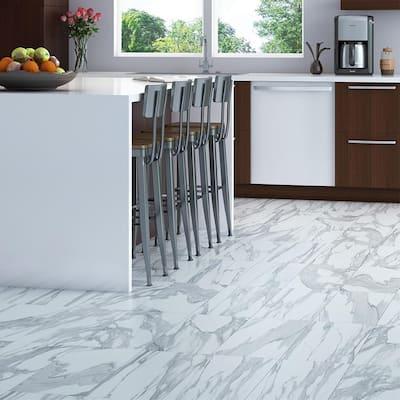 Sculpture White 12 in. x 24 in. Matte Ceramic Floor Tile (13.56 sq. ft. / carton)