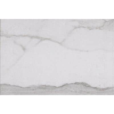Carrara 13 in. x 19 in. Ceramic Floor and Wall Tile (18.96 sq. ft. / case)