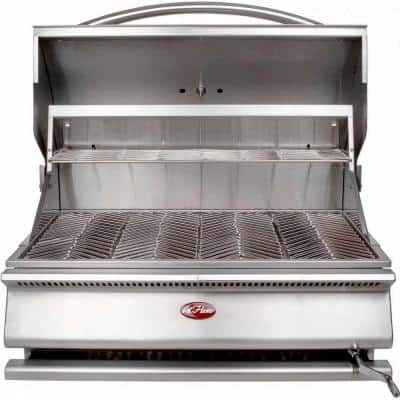 G-Series 31 in. Built-In Stainless Steel Charcoal Grill