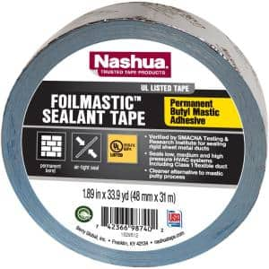 1.89 in. x 33.9 yd. Foil Mastic Sealant Duct Tape