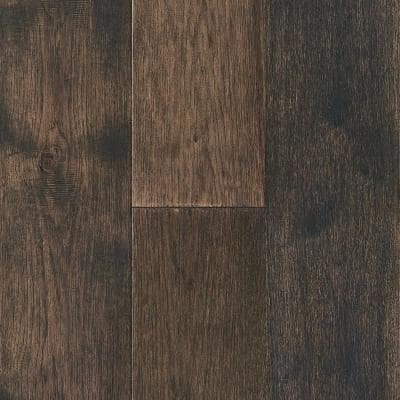 Time Honored Hickory Pewter 3/8 in. Tx 7-1/4 in. Wx Varying Length Engineered Click Hardwood Flooring(32.63 sq.ft./case)