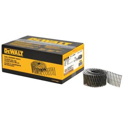 2 in. x 0.99 in. Metal Coil Nails 3600 per Box