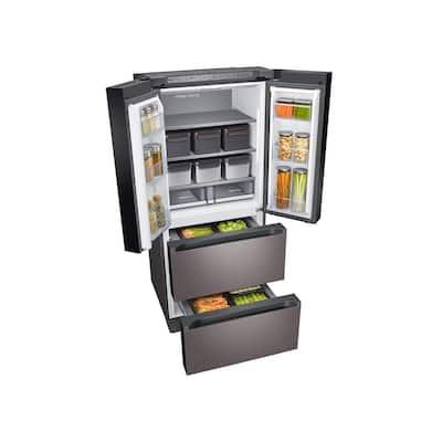 17.3 cu. ft. Smart Kimchi and Specialty 4-Door French Door Refrigerator in Platinum Bronze