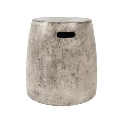 18 in. Hive Polished Concrete Stool
