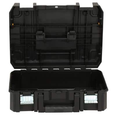 TSTAK II 13 in. Stackable Flat Top Tool Storage Case