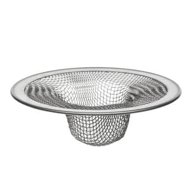 2-3/4 in. Mesh Tub Strainer in Stainless Steel