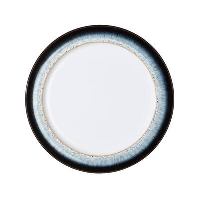 Halo Wide Blue Rimmed Salad Plate