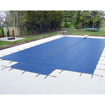 Mesh Layer Pool Covers Pool Supplies The Home Depot