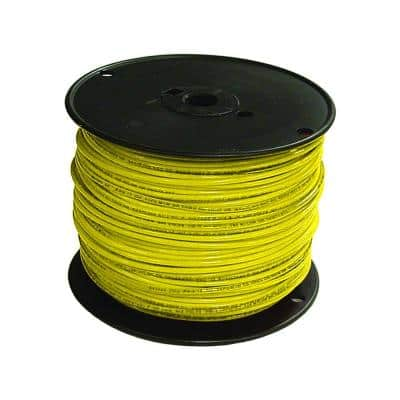 500 ft. 16 Yellow Stranded CU TFFN Fixture Wire