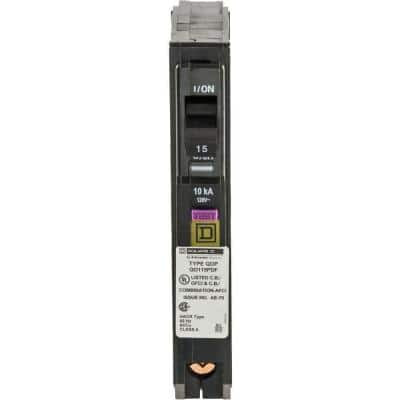 QO 15 Amp Single-Pole Plug-On Neutral Dual Function (CAFCI and GFCI) Circuit Breaker (9-pack)