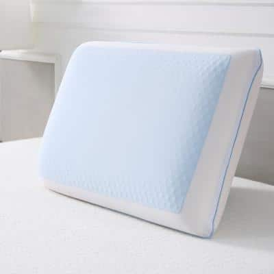 Cool Cooling Gel Memory Foam Standard Pillow