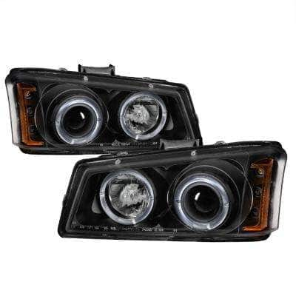 Chevy Silverado 1500/2500/3500 03-06 /Chevy Silverado 2500HD 03-06 - Amber Reflector - Black - Hig