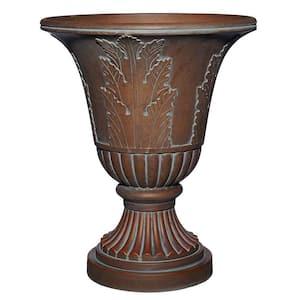 Oakmont 21 in. Aged Bronze Resin Planter