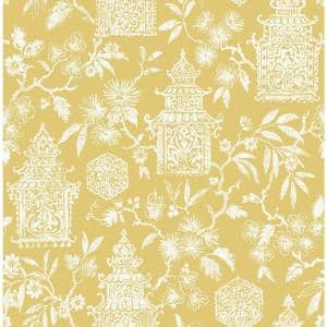 Yellow Danson Peel and Stick Wallpaper Sample