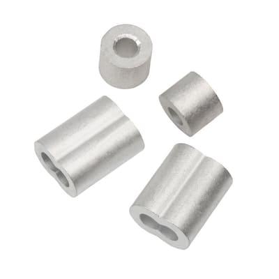 3/32 in. Aluminum Ferrule and Stop Set