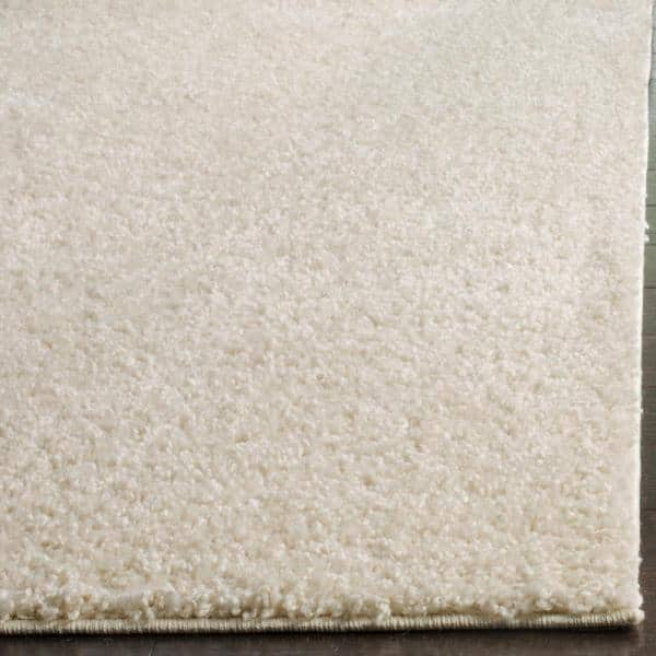 Safavieh Arizona Shag Cream 7 Ft X 7 Ft Square Area Rug Asg820a 7sq The Home Depot