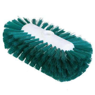 5.5 in. x 9.0 in. Green Tank and Kettle Scrub Brush (Case of 12)