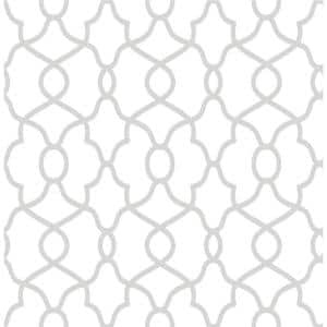 Silver Clearly Cool Metallic Textured Wallpaper Sample