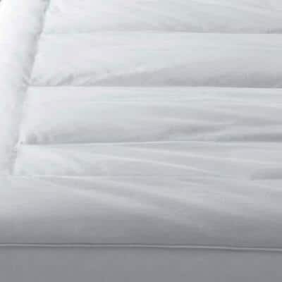 Pillowtop 5 in. Down Featherbed Mattress Topper