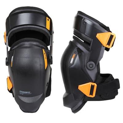 FOAMFIT Black Thigh Support Stabilization Knee Pads