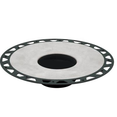 Kerdi-Drain 11-13/16 in. ABS Flange Kit With 2 in. Outlet