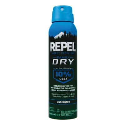 4 oz. Aerosol Dry Insect Repellent