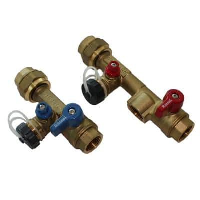 Threaded Plumbing installation Valve Kit