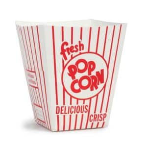 0.85 oz. Open Top Movie Theater Popcorn Boxes (100-Count)