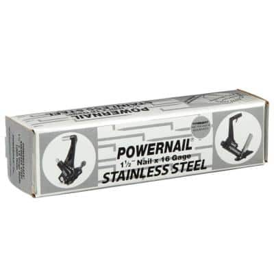 1-1/2 in. 16-Gauge Powercleats Stainless Steel Hardwood Flooring Nails (1,000-Count)