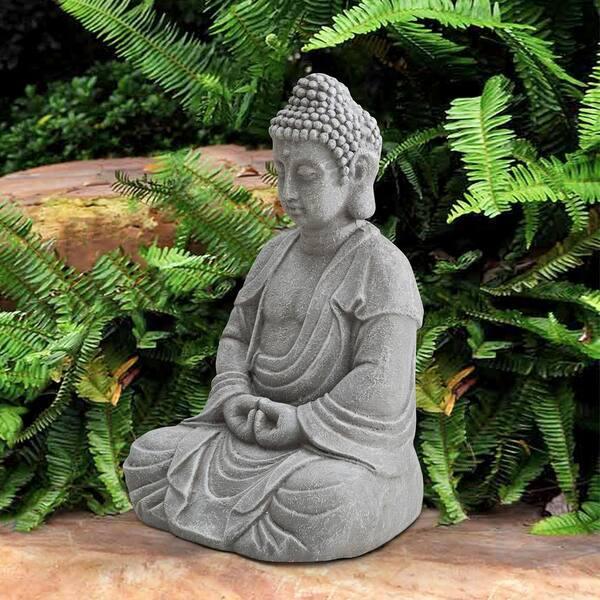 Shannon Gray Decorative Buddha Garden, Buddha Garden Statues