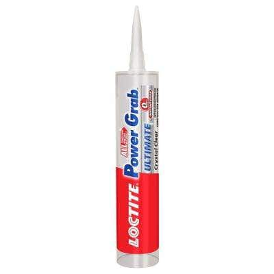 Power Grab Ultimate Crystal Clear 9 fl. oz. Construction Adhesive