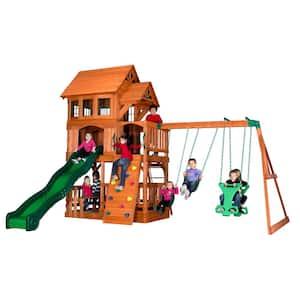 Liberty II All Cedar Swing Set