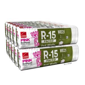 R-15 Kraft Faced Insulation Batt 15 in. x 93 in. (10-Bags)