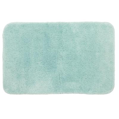 Duo Aqua 20 in. x 32 in. Nylon Machine Washable Bath Mat