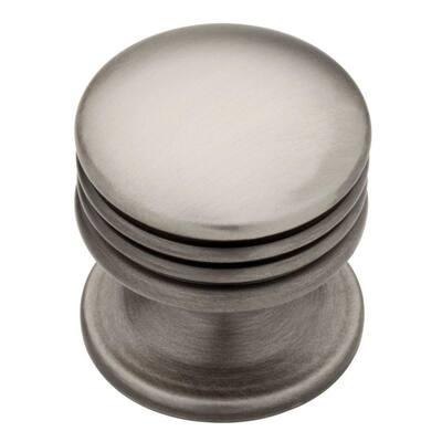 Athens 1 in. (26mm) Heirloom Silver Aegean Round Cabinet Knob