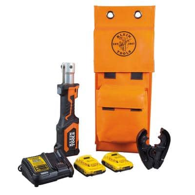 Battery-Operated BG Die/D3 Groove Crimper with Two 2 Ah Batteries Charger and Bag