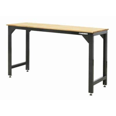6 ft. Solid Wood Top Workbench