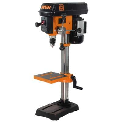 5 Amp 10 in. Variable Speed Benchtop Drill Press with Laser