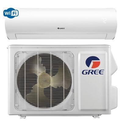 Sapphire 22,000 BTU 2-Ton Ductless Mini Split Air Conditioner with Inverter, Heat, Remote 208-Volt-230-Volt/60Hz