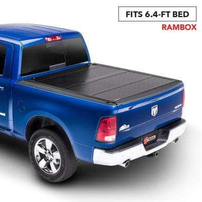 G2 Tonneau Cover for 12-18 (19 Classic) Ram 1500/12-19 2500/3500 6 ft. 4 in. Bed with RamBox