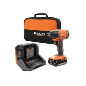 18V Cordless 1/4 in. Impact Driver Kit with 2.0 Ah Battery and Charger