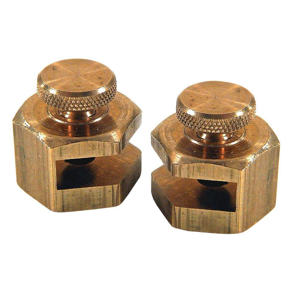 Empire 3/4 in. Brass Stair Gauges (2-Pack)
