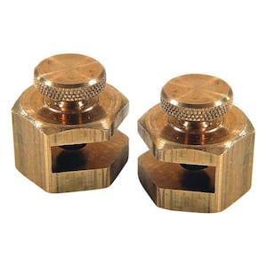 3/4 in. Brass Stair Gauges (2-Pack)